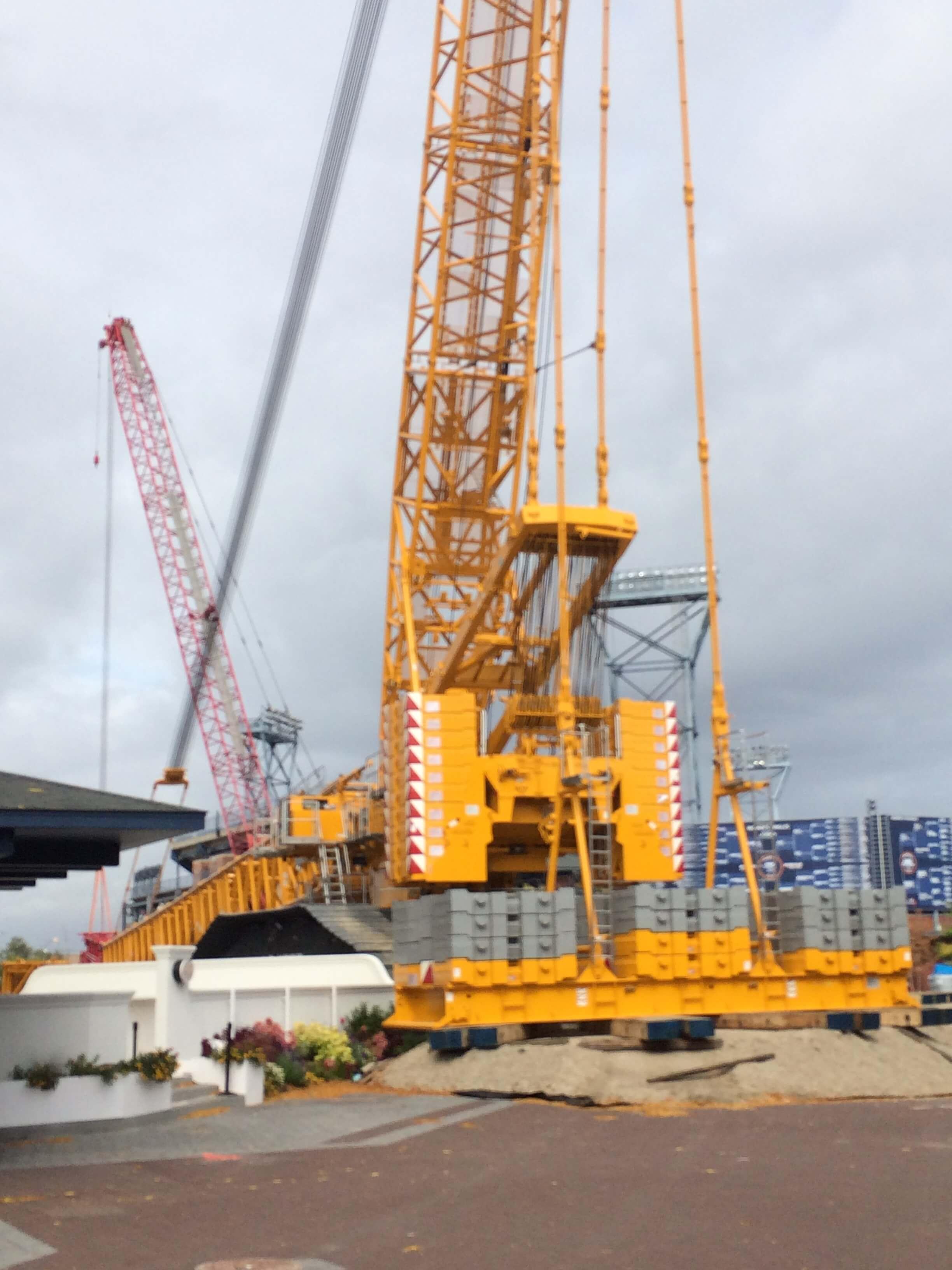 Heavylift Crane Projects Buckner Companies