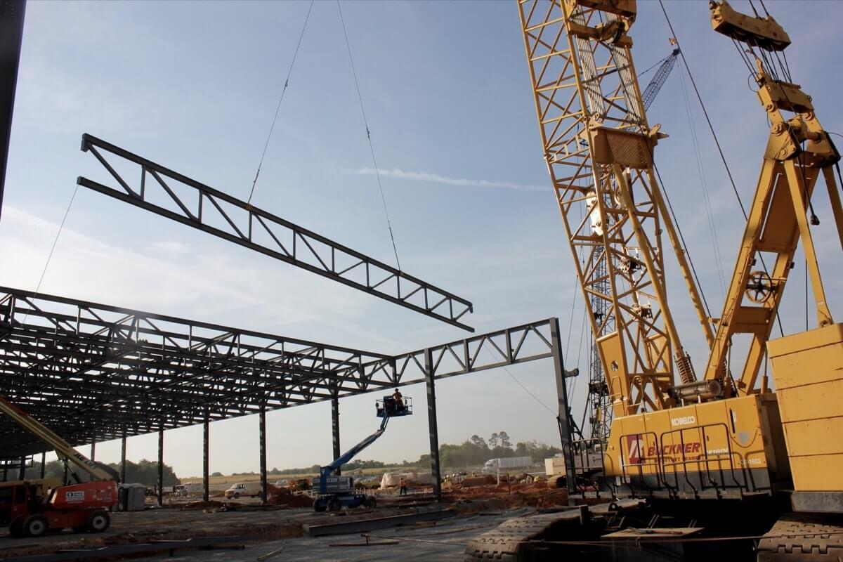 Steel Erection Buckner Heavylift
