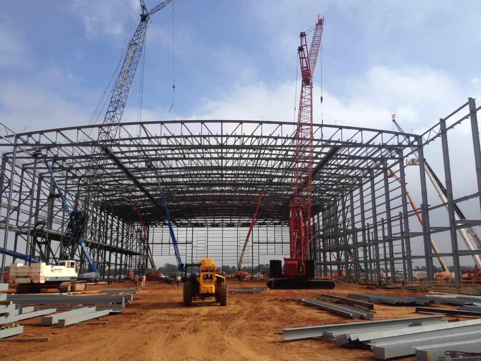 Steel Erection Amp Precast Projects Buckner Heavylift