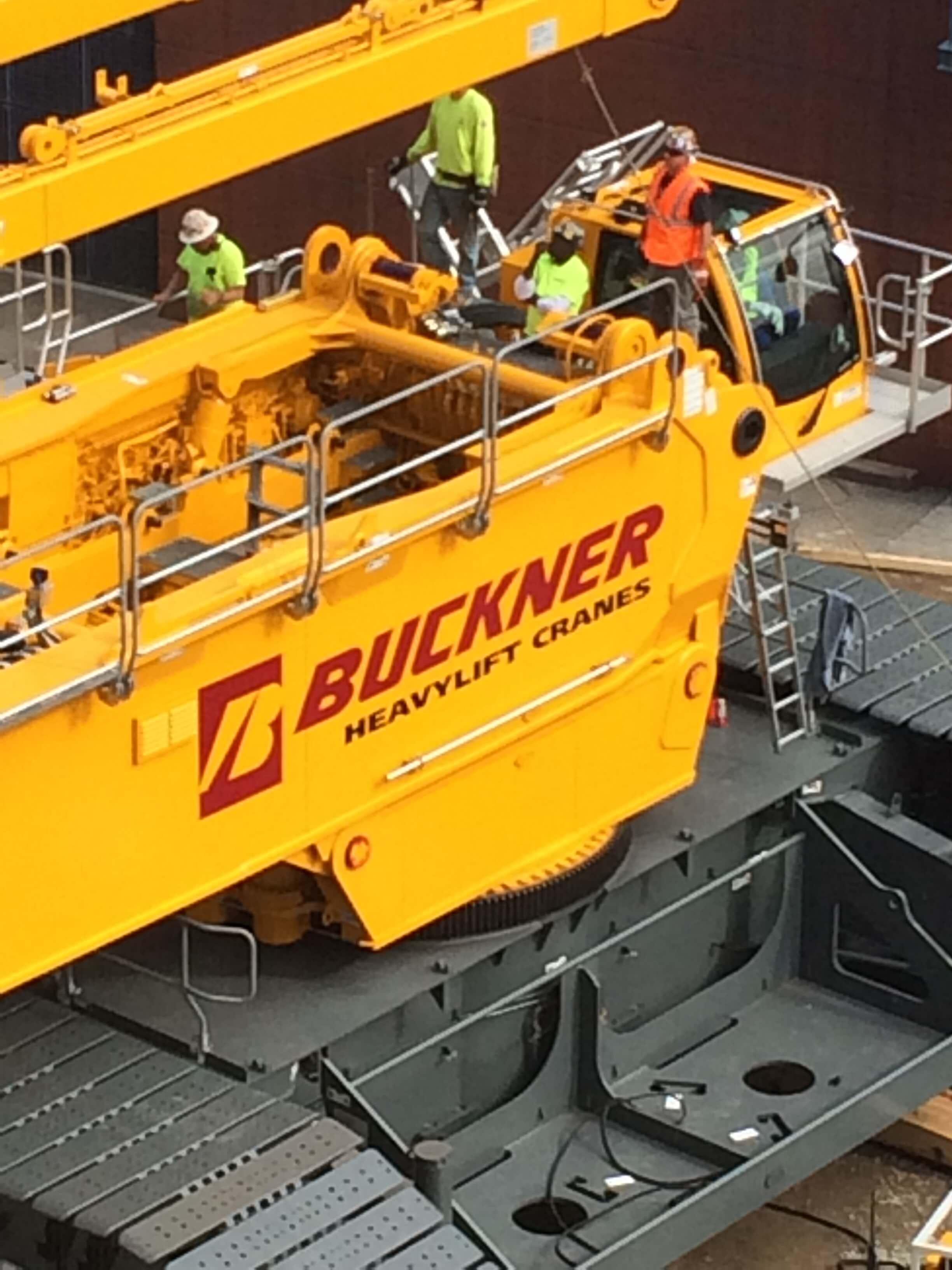 Liebherr Lr 11350 P1800 Buckner Heavylift